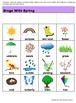 Spring Bingo Game  Deveploment of Vocabulary