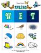Spring Bingo / Matching Game w/ flashcards