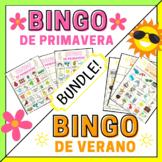 Spring Bingo & Summer Bingo in Spanish   Spanish Bingo BUN