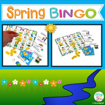 """Spring Bingo (""""Wh"""" Questions)"""