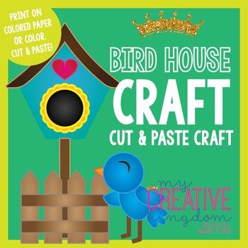 Spring Bird House Feeder Craft