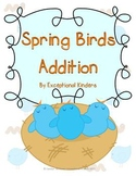 Spring Birds Addition Mats - Decomposing Numbers