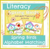 Spring Birds Alphabet Activity