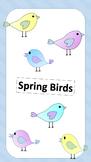 Spring Birds Clipart