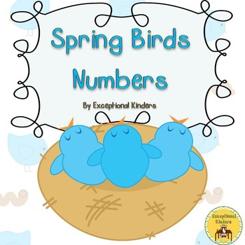 Spring Birds Counting Mats