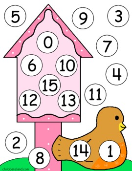 Spring Birds Early Learning Pack