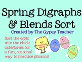 Spring Blends and Digraphs Word Sort