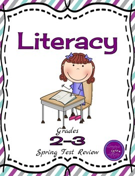 Spring Blog Hop - 2-3 Literacy Spring Test Review