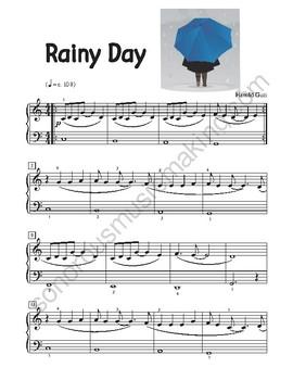 Rainy Day for piano
