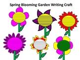 Spring Blooming Garden Writing Craft