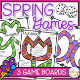 Spring Board Games | Team Building and Getting to Know You