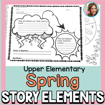 Book Companion | Spring Speech and Language Activities