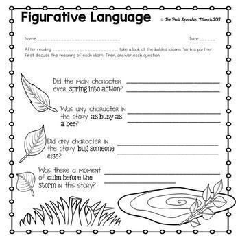 Book Companion | Spring Speech and Language Activities