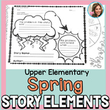 Story Elements | Spring Speech and Language Activities