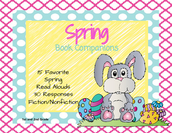 Spring Book Companions: Easter, Plants and Animals