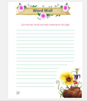 Spring Book Report