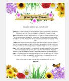 Spring Book Report Activity