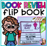 Spring Book Report Flip Book