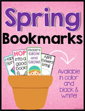 Spring Bookmarks