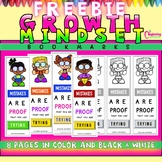 FREE Growth Mindset Bookmarks!