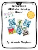 Spring Books QR Code Listening Center