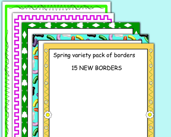 Spring Borders New 2017