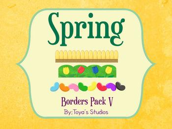 Spring Borders Pack V