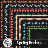 Spring Borders Set 2