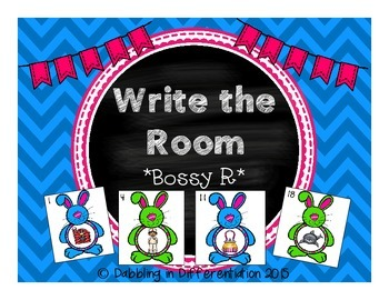Bossy R Write the Room