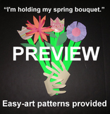 "Summer/Spring Bouquet"" - an Easy-art Picking Flowers Craftivity"