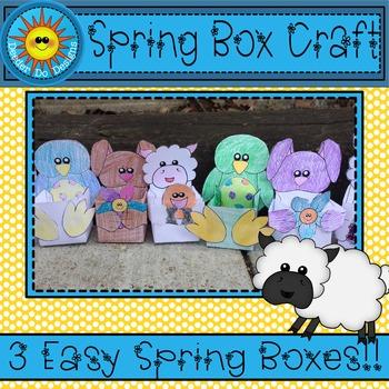 Spring Box Craft