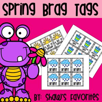 Spring Brag Tags {21+ Brag Tags}