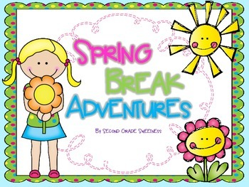Spring Break Adventures Writing Craftivity