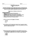 Spring Break Assignment (Editable)