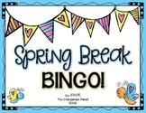 Spring Break Bingo