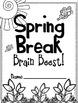 Spring Break Brain Boost for First Grade!