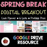 Spring Break Breakout - Spring Break Escape Room - Activities - Digital - Fun