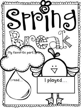 Spring Break By The 2 Teaching Divas