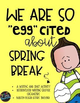 Spring Break Craftivity