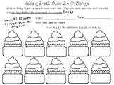 Spring Break Cupcake Reading Challenge (Title/Chapter)
