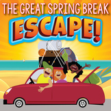 SPRING BREAK Escape Room (Activities, Trivia & Games for Middle/High Students)