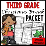 Christmas Packet: Third Grade Christmas Break Packet (Homework)
