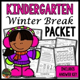 Winter Break: Kindergarten Winter Break Packet