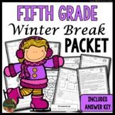 Winter Break: Fifth Grade Winter Break Packet
