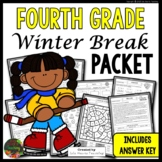 Winter Break: Fourth Grade Winter Break Packet