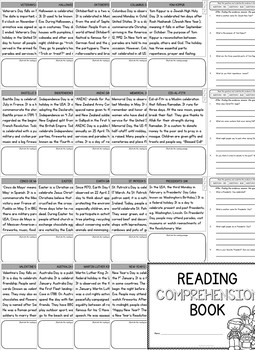 Non-Fiction Reading Comprehension Passages and Questions (First Grade)