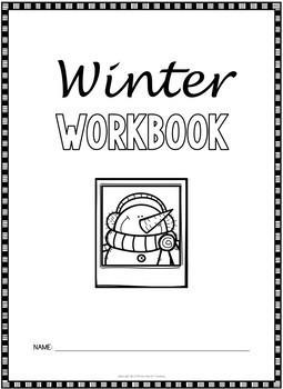 1st Grade Winter Worksheets (1st Grade Winter Math Activities NO PREP)