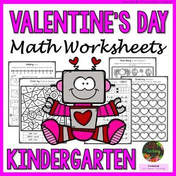 Kindergarten Valentines Day Teaching Resources Teachers Pay Teachers