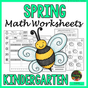 kindergarten spring worksheets kindergarten math worksheets  originaljpg