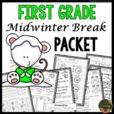 First Grade Mid Winter Break Packet (First Grade Homework)